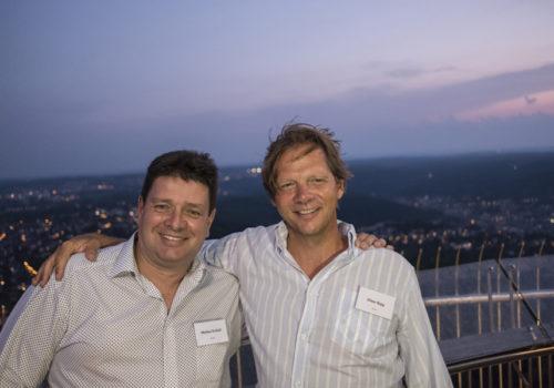 Markus Zscholl (Pedrali) und Oliver Rapp (Brune
