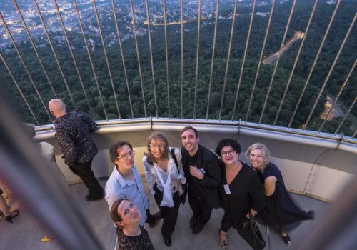 Katja Knaus, Jan Theissen, Sonja Nagel, Uwe Bresan, Dijane Slavic und Regina Schubert