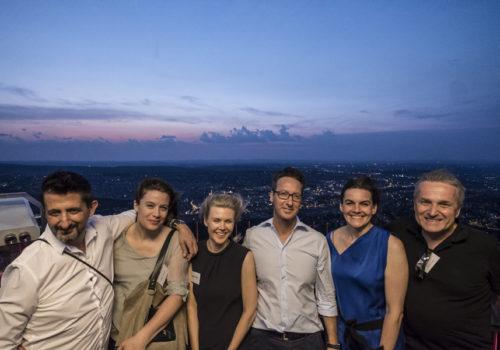 Jason und Birgit Martinez (decor + more), Regina Schubert, Deniz Turgut, Elke Reichel und Rolf Heine