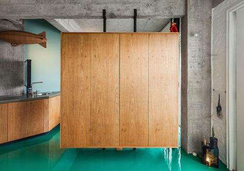 Apartment in São Paulo von Vão Arquitetura 02