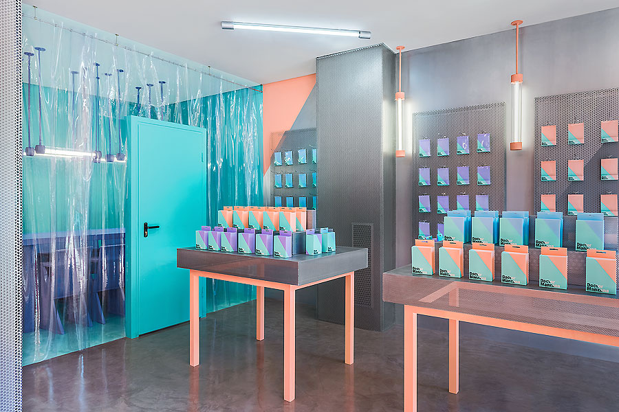Doctor Manzana-Store in Valencia von Masquespacio