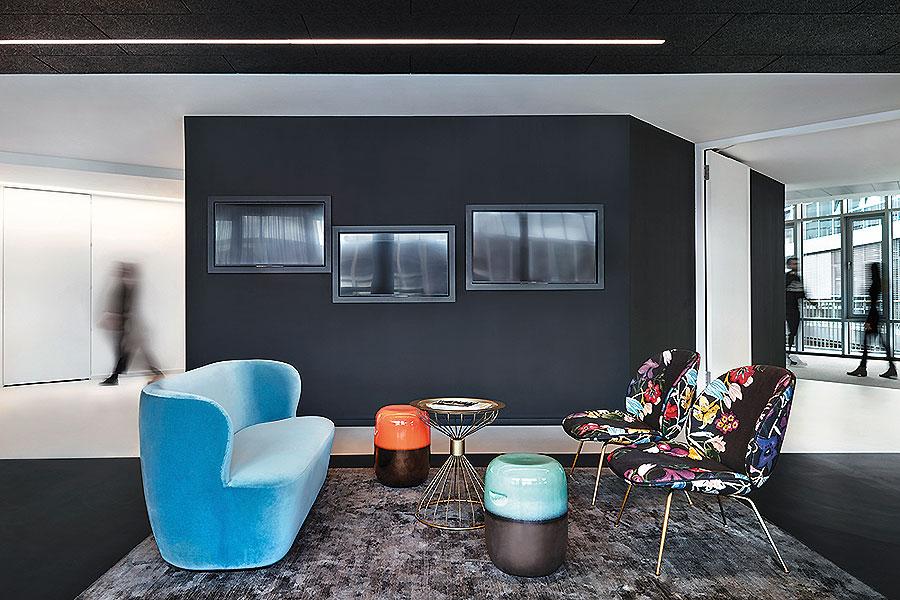 Büro der Omnicom Media Group in Düsseldorf von de Winder Architekten
