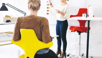 AIT-Produkttest Bürostuhl HÅG Capisco von flokk – jetzt testen!