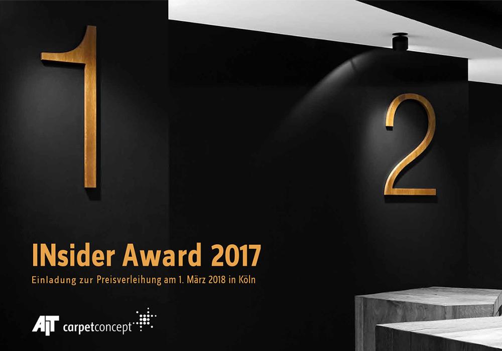 INsider Award 2017 - Preisverleihung
