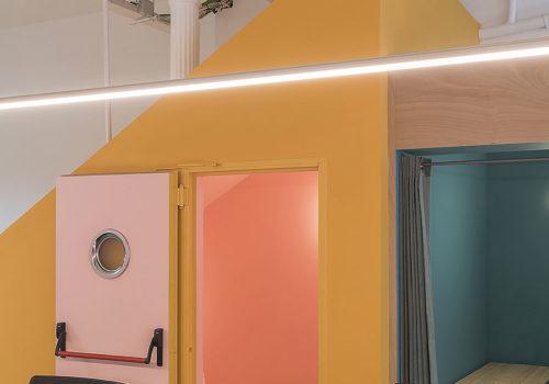 Büro in Barcelona von CaSa 04