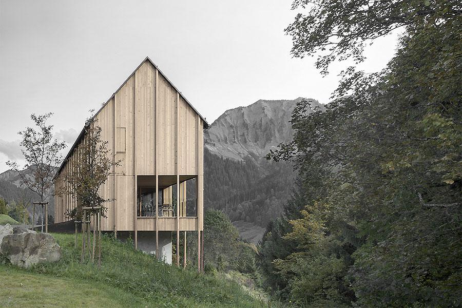 Haus am Stürcher Wald von Bernardo Bader Architekten