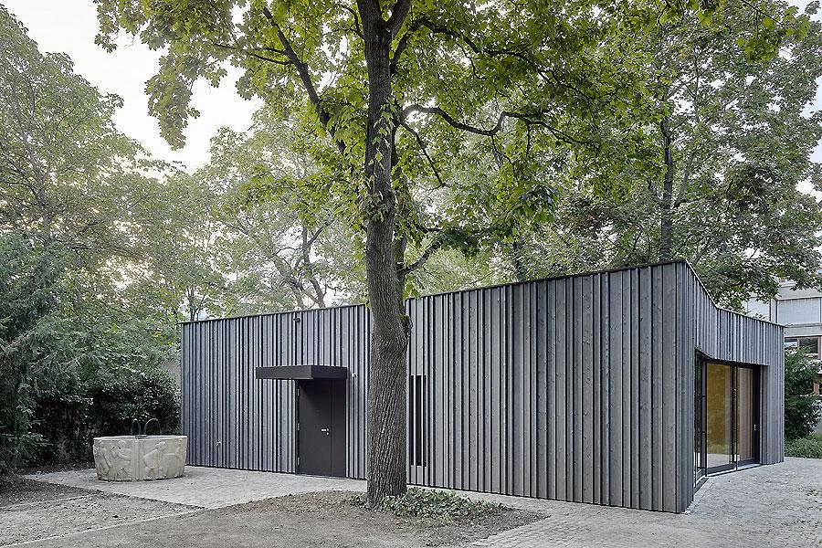 Gemeindepavillon in Basel 01