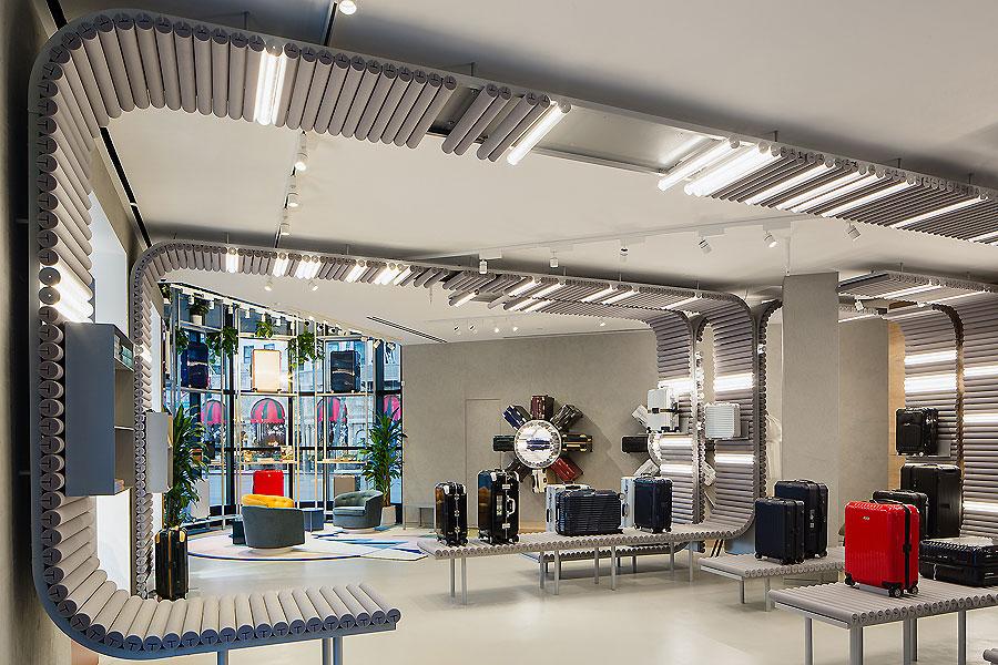 Rimowa Pop Up Store In Los Angeles Von Labvert Ait Xia