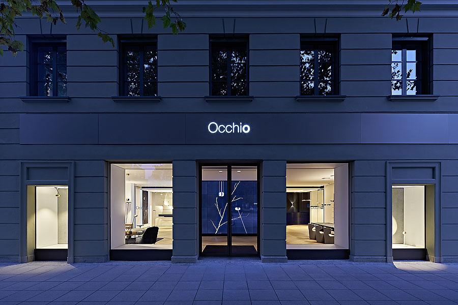 occhio flagship store in m nchen von einszu33 ait xia. Black Bedroom Furniture Sets. Home Design Ideas