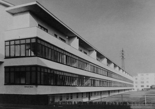 Franz-Roeckle-Heimatsiedlung in Frankfurt 1927