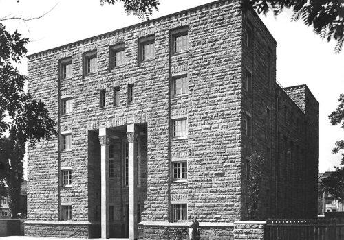 Franz-Roeckle-Institut für Sozialforschung in Frankfurt 1924