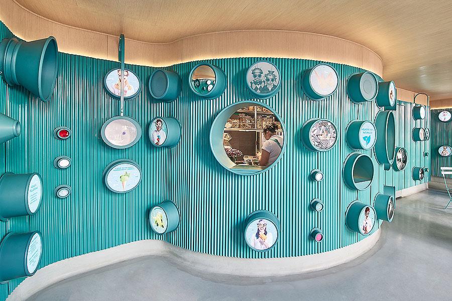 Eisladen in Mexiko-Stadt von Esrawe Studio