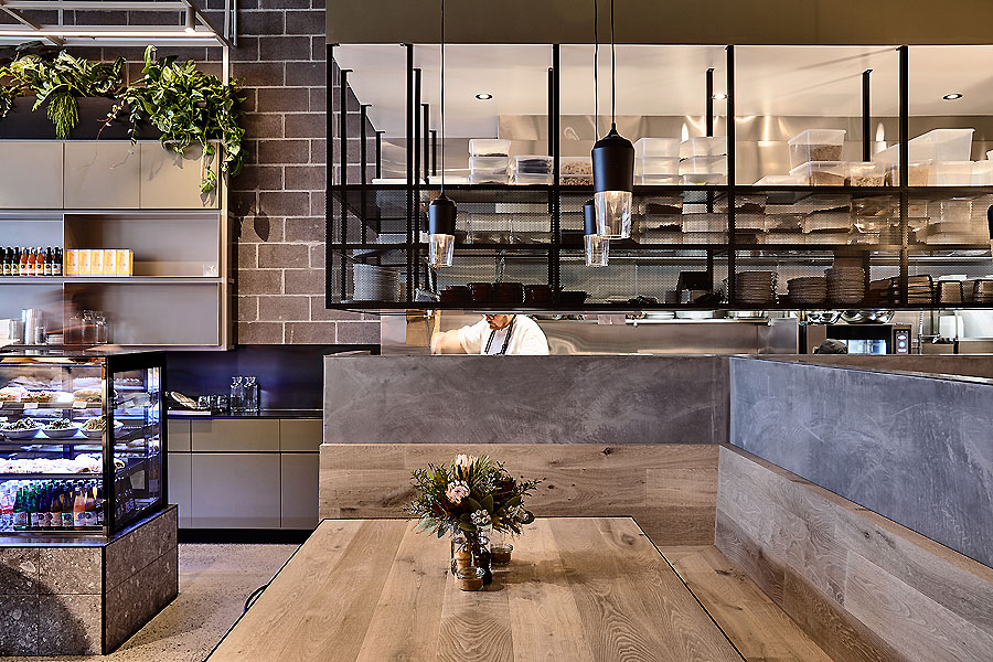 Café in Melbourne von Architects Eat