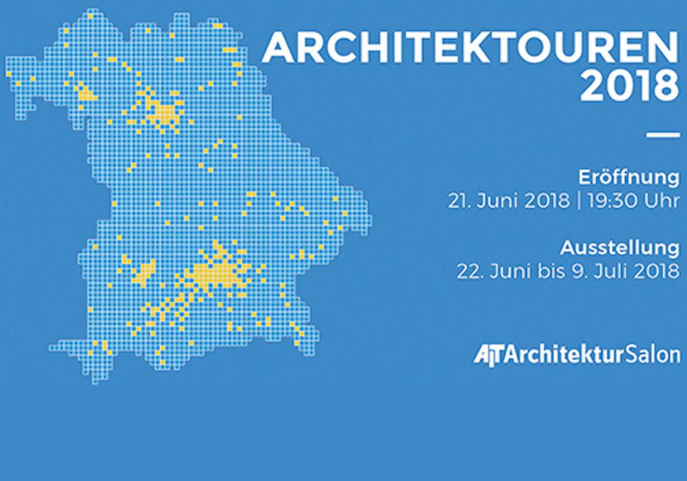 Architektouren - Ausstellung im AIT-ArchitekturSalon München