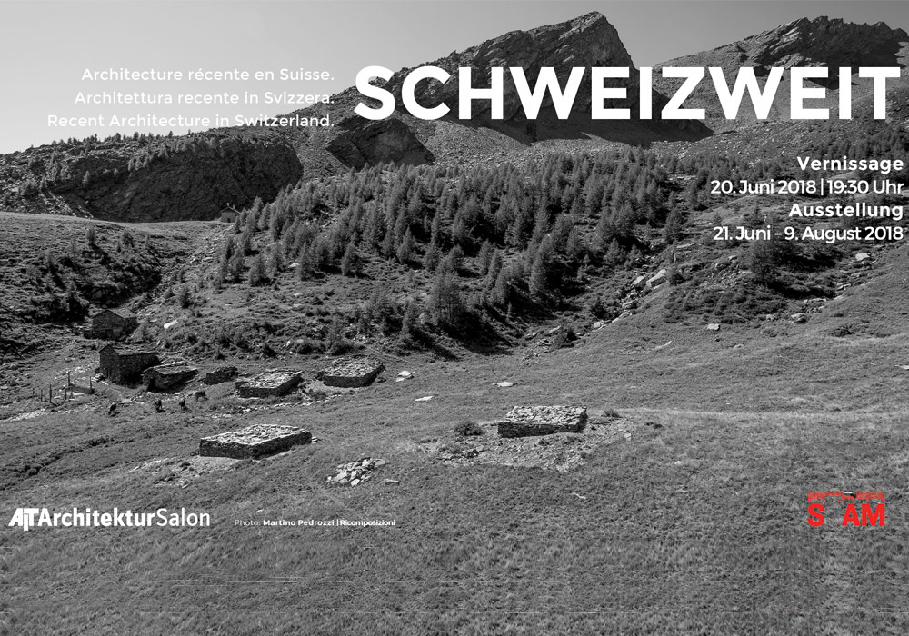 Schweizweit - Ausstellung im AIT-ArchitekturSalon Hamburg