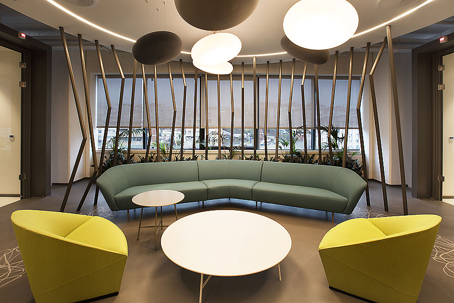Büro in Istanbul von Mimaristudio
