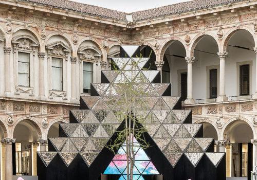 Installation in Mailand 01