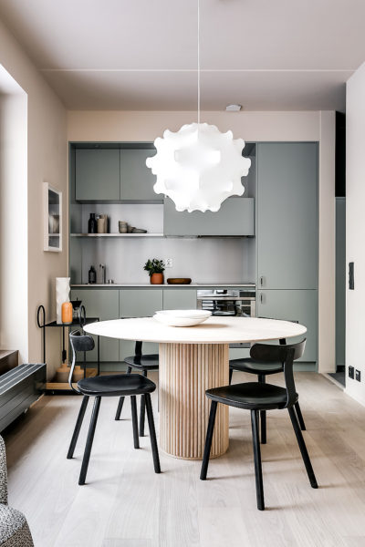 Apartment In Stockholm Von Note Design Studio AIT Xia AITDialog Awesome Apartment Studio Design Set