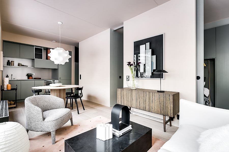 Apartment in Stockholm von Note Design Studio