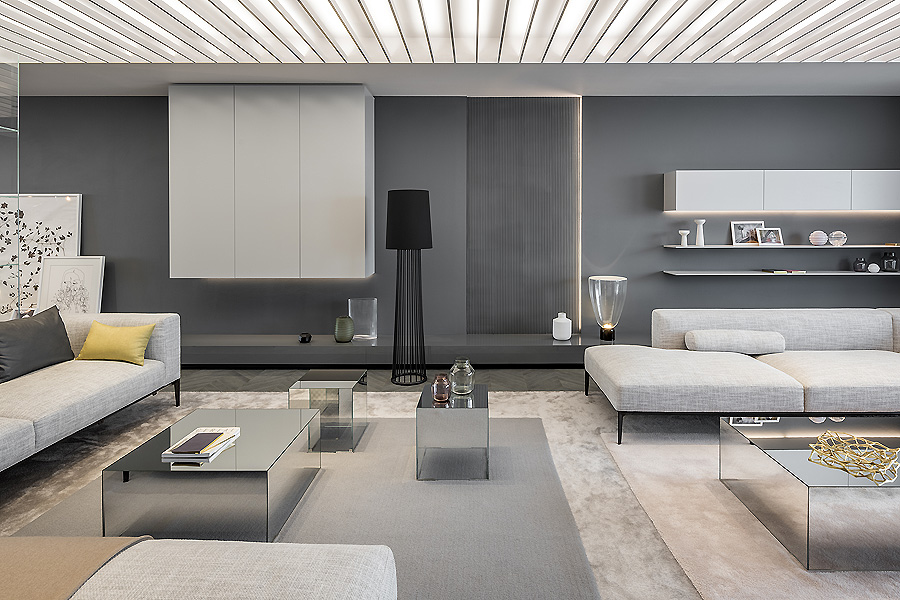Show Apartment in Shanghai von Ippolito Fleitz Group