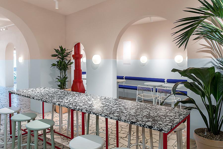 Restaurant in Berlin von Ester Bruzkus Architekten