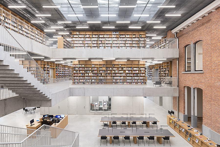 Bibliothek in Rotterdam 06