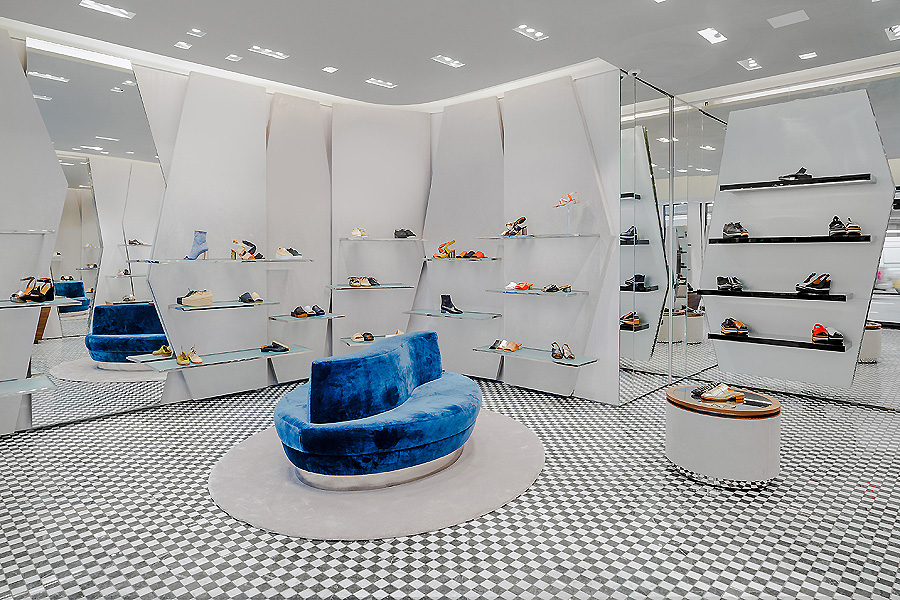 Boutique in New York von Vudafieri-Saverino Partners