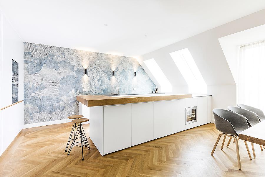Penthouse in München von Bespoke