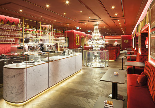 Café Sacher Eck in Wien 05