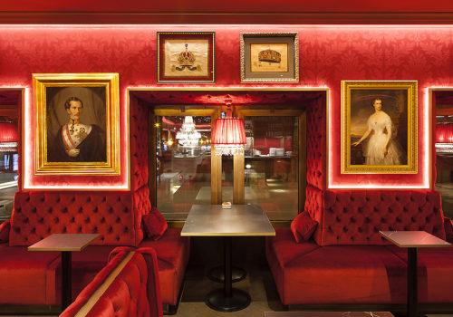 Café Sacher Eck in Wien 06