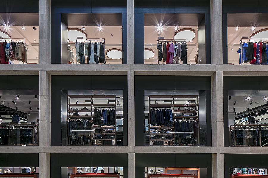 Kaufhaus La Rinascente in Rom von Vincent Van Duysen