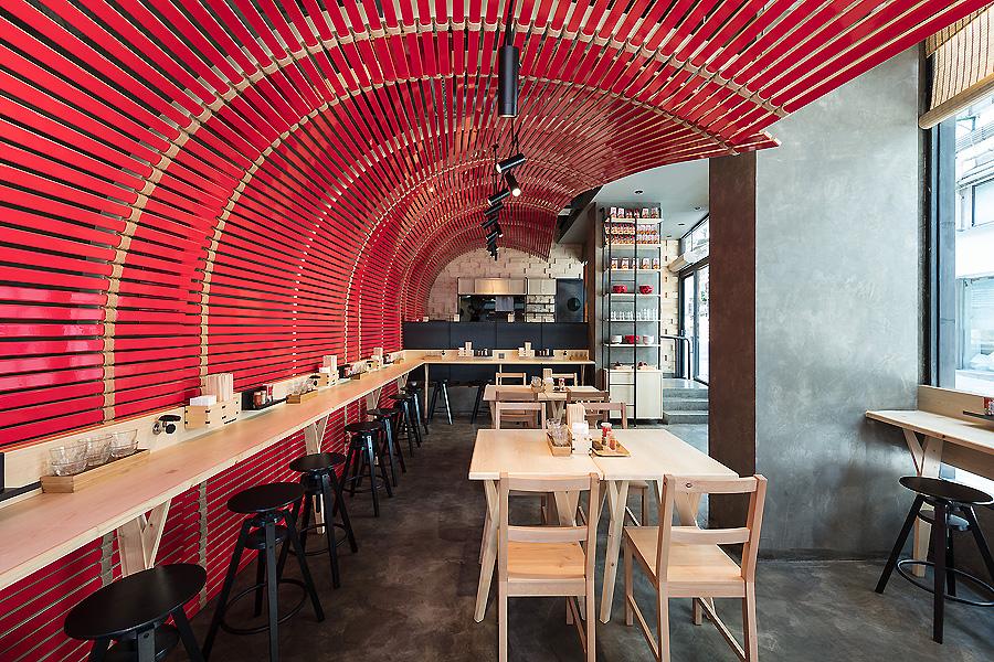Restaurant in Hongkong von A Work Of Substance