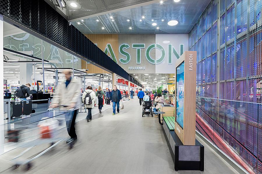 Shoppingcenter in Helsinki 02