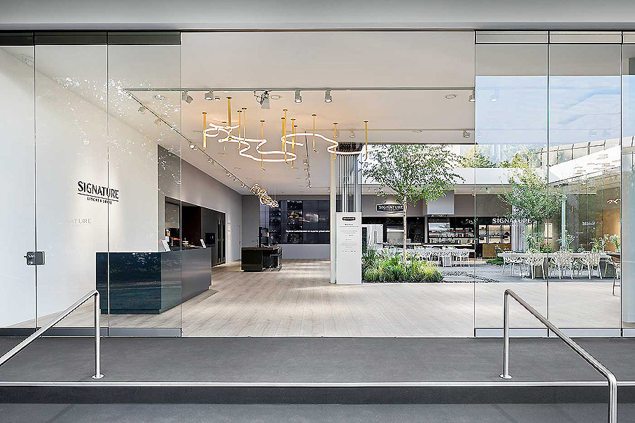 Signature Suite Kitchen Pavillon auf der IFA in Berlin von D´art Design Gruppe