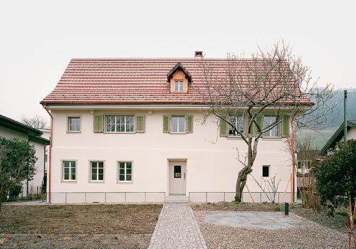 Wohnhaus in Sarnern 01