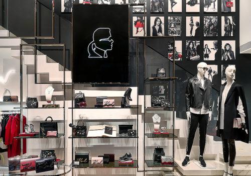 Karl Lagerfeld Store in München 02