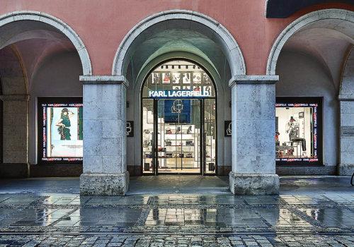Karl Lagerfeld Store in München 05