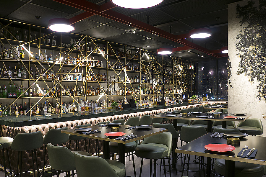 Restaurant Arts in Beirut von Gatserelia Design