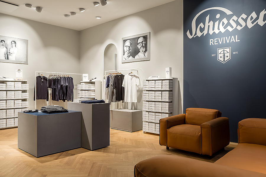 Schiesser Store in Berlin 02