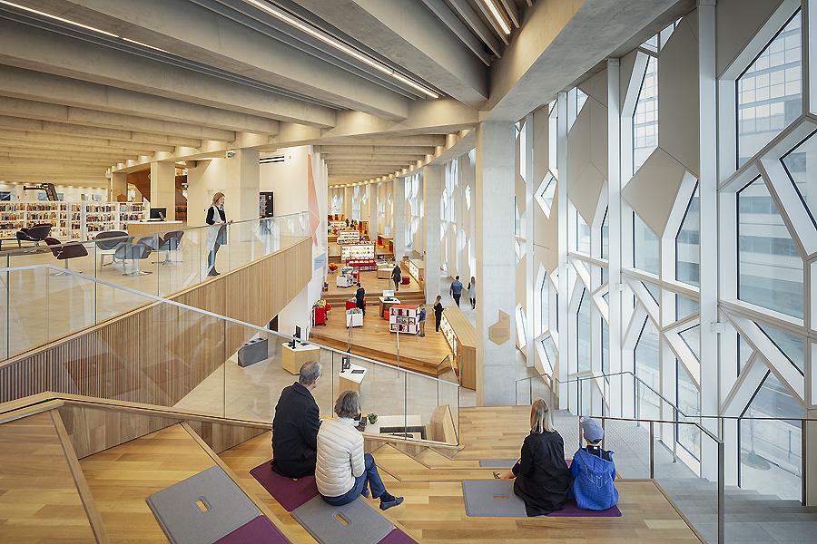 Zentralbibliothek in Calgary von Snøhetta