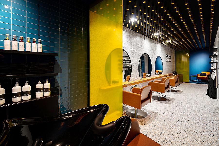 Friseursalon in München von Sebastian Zenker