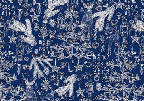 Weihnachtsprints von Textil Design Studio Mademoiselle Camille 06