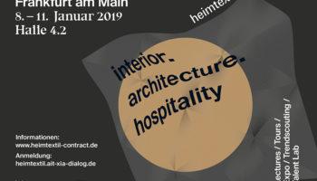 Heimtextil – Interior Architecture Hospitality