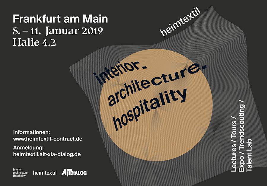 Heimtextil - Interior Architecture Hospitality