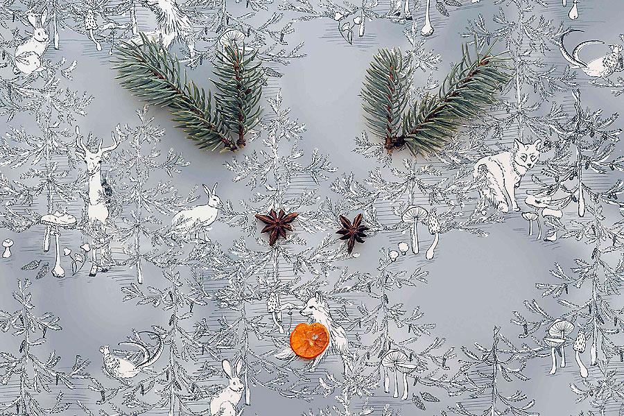 Weihnachtsprints von Mademoiselle Camille