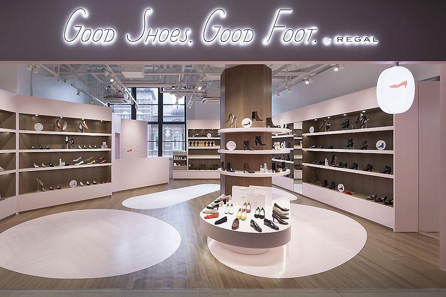 Schuhladen in Tokio von Ryusuke Nanki