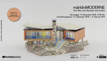 """""""märklinMODERNE"""" – Ausstellung im AIT-ArchitekturSalon München"""