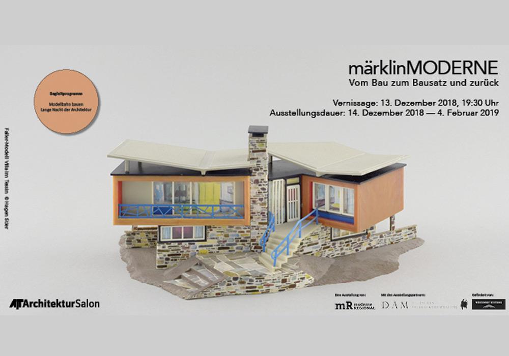 """""""märklinMODERNE"""" - Ausstellung im AIT-ArchitekturSalon München"""