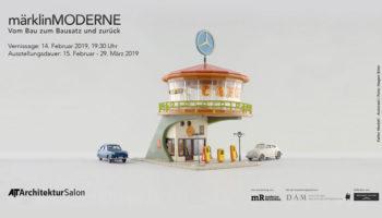 """""""märklinMODERNE"""" – Ausstellung im AIT-ArchitekturSalon Hamburg"""