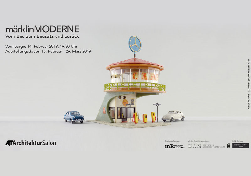 """""""märklinMODERNE"""" - Ausstellung im AIT-ArchitekturSalon Hamburg"""